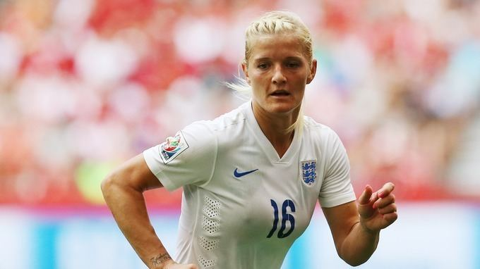 Katie Chapman Women39s World Cup Family of England midfielder Katie