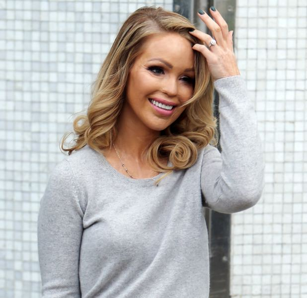 Katie Piper Katie Piper thanks fans for messages as she is 39very ill