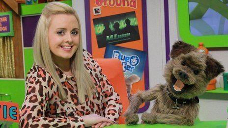 Katie Thistleton Ariel From PA to presenter