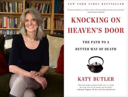 Katy Butler Katy Butler Knocking on Heavens Door Bookshop Santa Cruz