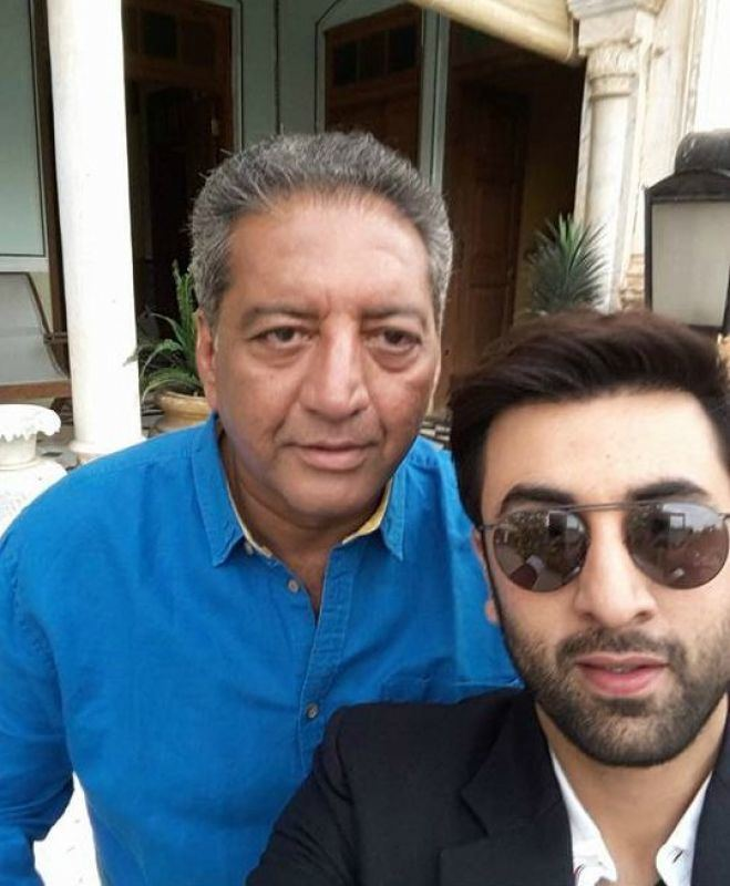 Kaushal Kapoor TV actor Kaushal Kapoor slapped Ranbir Kapoor very hard on the sets