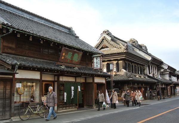 Kawagoe, Saitama in the past, History of Kawagoe, Saitama