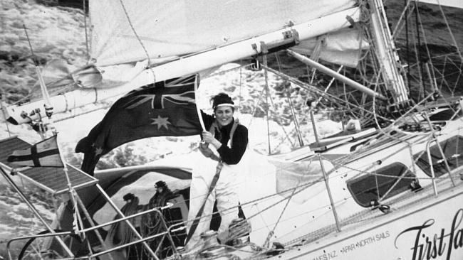 Kay Cottee Kay Cottee 39only went for a sail39 around world solo