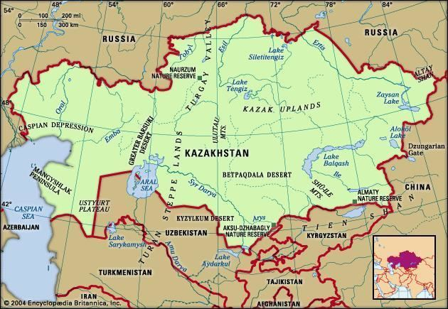 Kazakh Uplands - Alchetron, The Free Social Encyclopedia on
