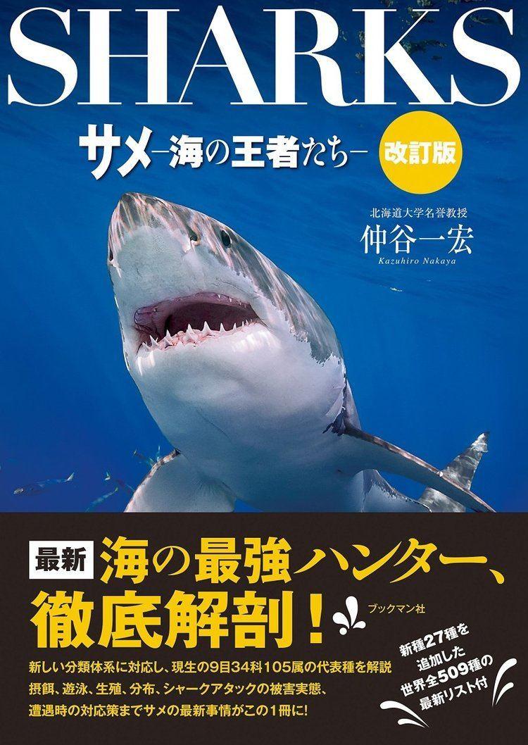 Kazuhiro Nakaya Sharks Champion of the Sea Japanese Kazuhiro Nakaya NHBS Shop