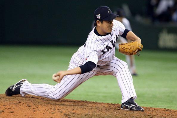 Kazuhisa Makita Kazuhisa Makita Pictures Samurai Japan v MLB All Stars