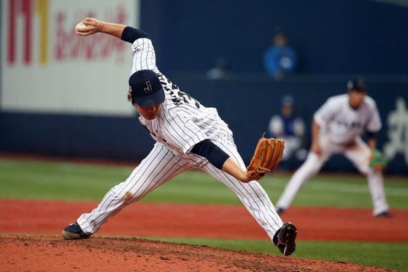 Kazuhisa Makita Kazuhisa Makita Photos Samurai Japan v MLB All Stars