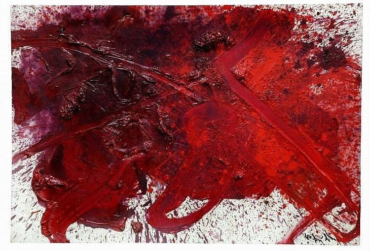 Kazuo Shiraga Kazuo Shiraga Works on Sale at Auction Biography