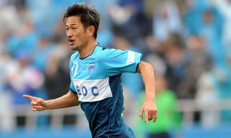 Kazuyoshi Miura Kazuyoshi Miura 48 improves record as Japan39s oldest