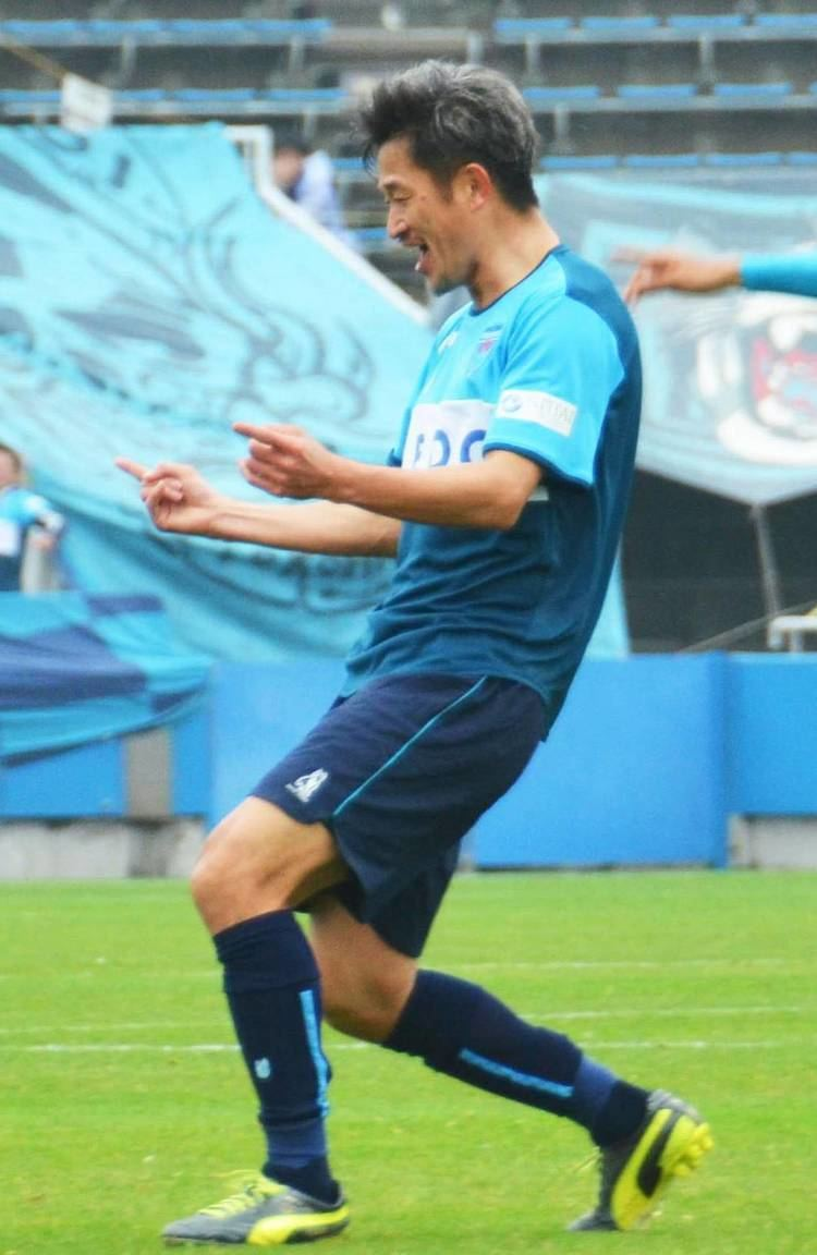 Kazuyoshi Miura King Kazu39 rewrites scoring record The Japan Times
