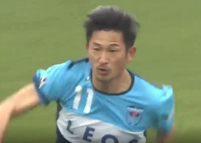 Kazuyoshi Miura Kazuyoshi Miura World39s oldest player is still scoring