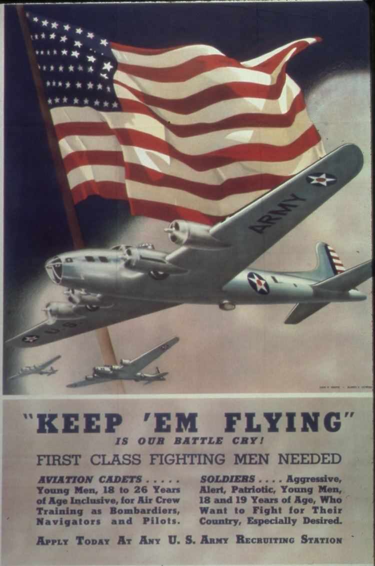 Keep 'Em Flying FileKeep em Flying is Our Battle Cry First Class Fighting Men