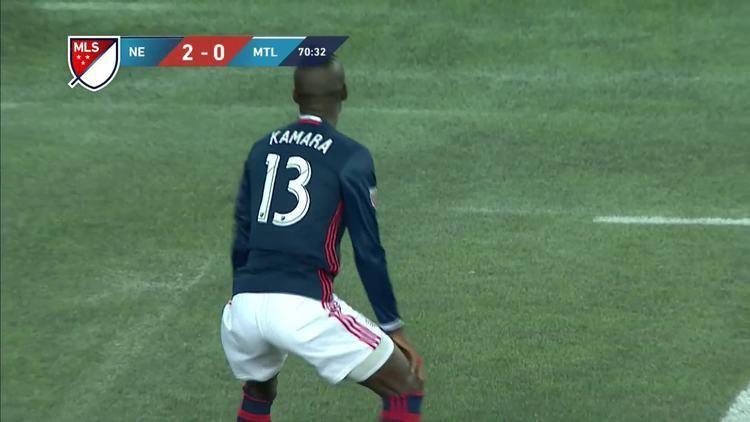 Kei Kamara Kei Kamara booked for twerking after scoring for New England