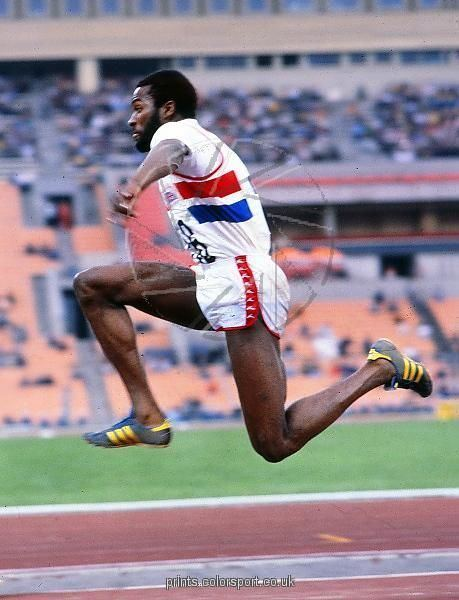 Keith Connor Keith Connor 1980 Moscow Olympics Triple Jump Athletics 1980