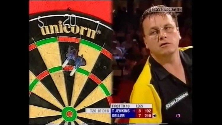 Keith Deller Keith Deller v Terry Jenkins 2005 World Matchplay Darts Part 2