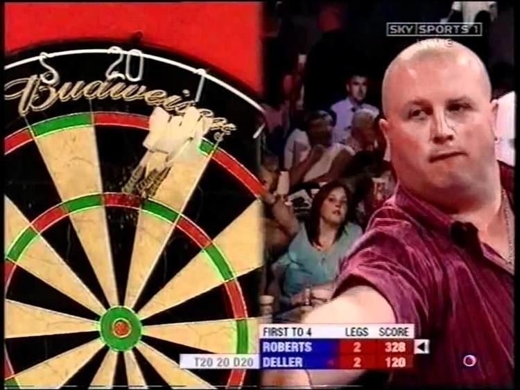 Keith Deller Keith Deller v Jason Roberts UK Open Darts 2005 YouTube