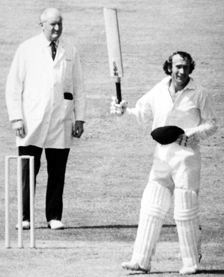 Keith Fletcher (Cricketer) in the past