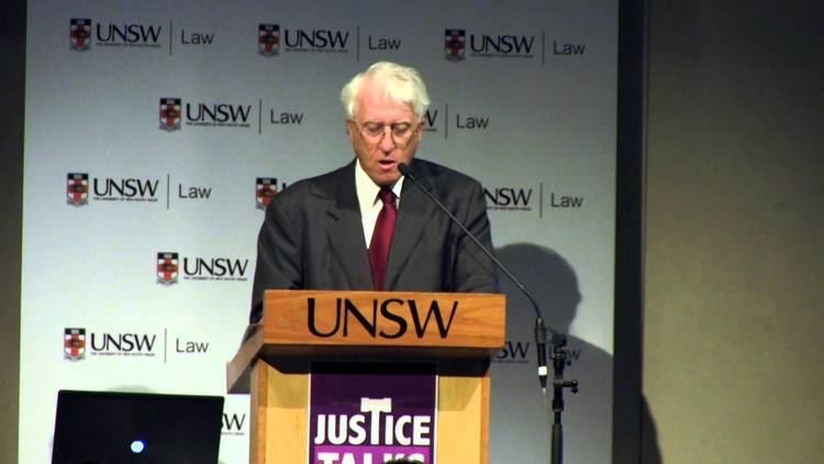 Keith Mason (judge) Justice Talks The Hon Keith Mason on The Human Sides of Law YouTube