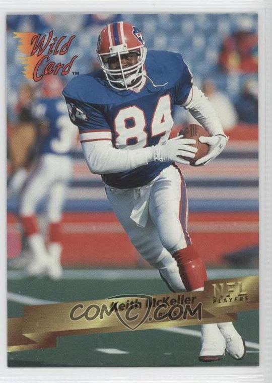 Keith McKeller 1993 Wild Card Base 24 Keith McKeller COMC Card Marketplace