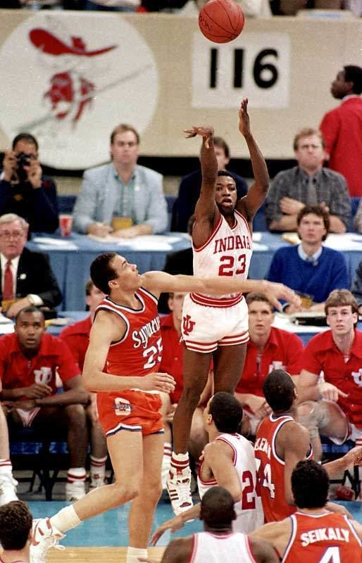 Keith Smart Keith Smart39s winning shot NCAA Photo 8860221 Fanpop