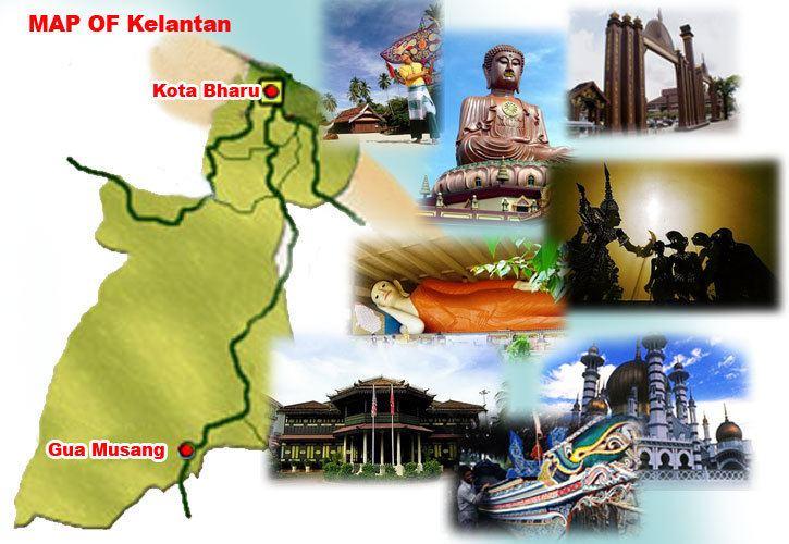 Kelantan Tourist places in Kelantan
