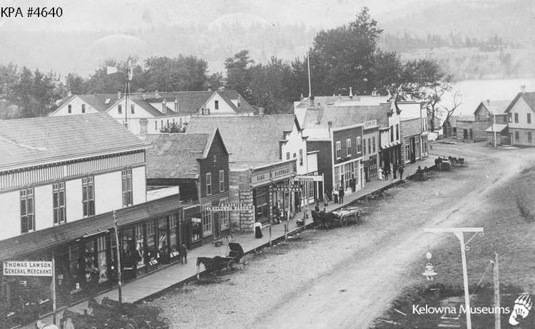 Kelowna in the past, History of Kelowna