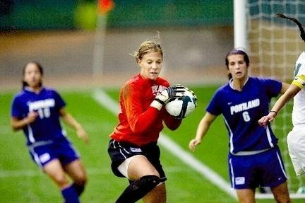 Kelsey Davis Pilots former soccer players Kelsey Davis and Michelle Enyeart