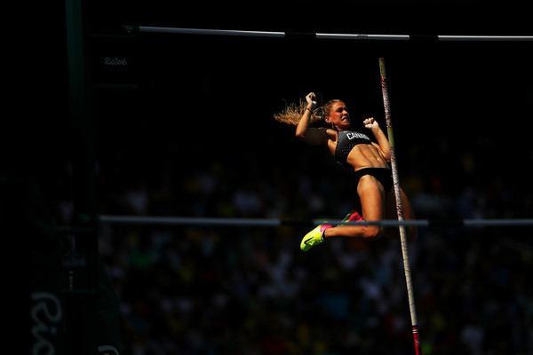 Kelsie Ahbe Kelsie Ahbe Photos Photos Athletics Olympics Day 11 Zimbio