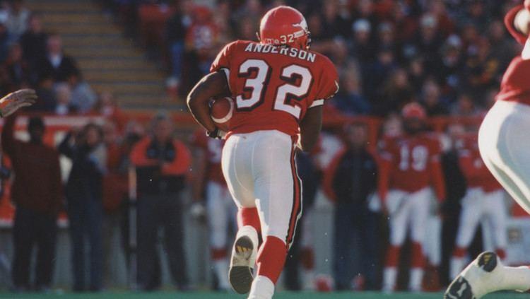 Kelvin Anderson Anderson was monumental Calgary Stampeders