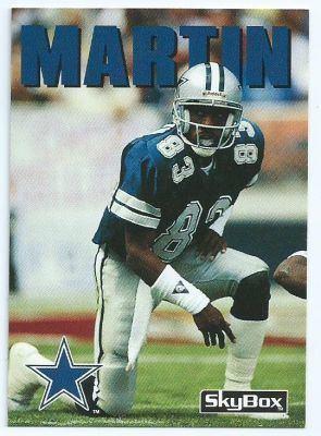 Kelvin Martin (American football) DALLAS COWBOYS Kelvin Martin 148 SKYBOX Impact 1992 NFL American