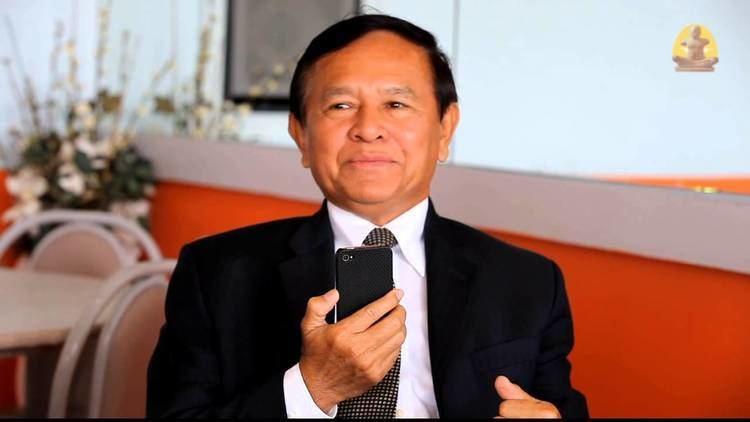 Kem Sokha Cambodia Vice president of CNRP HE Kem Sokha with radio
