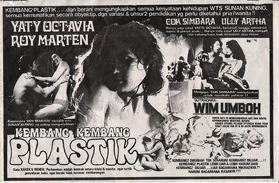 Kembang-Kembang Plastik Indonesian cinemathequecinemantique KEMBANGKEMBANG PLASTIK 1977