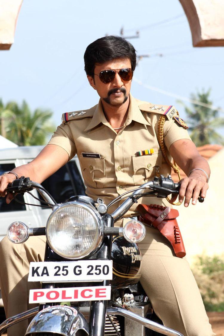 Kempe Gowda (film) Sudeep at Kempegowda Kannada Movie Veethi