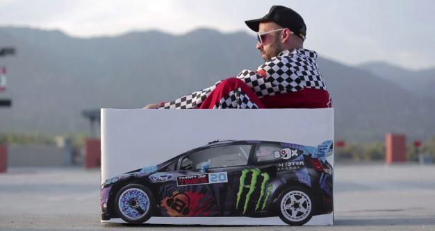 Ken Box Watch Ken Box Drift the Worlds Tiniest Rally Car News Car and