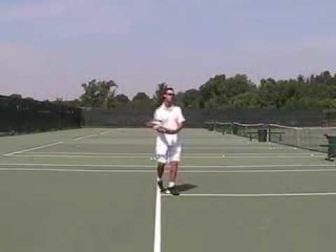 Ken Flach 10sne1com Ken Flach Volley Lesson 2008 Adidas Tennis Camp YouTube