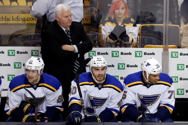 Ken Hitchcock NHL News Blues Hitchcock Agree On OneYear Deal