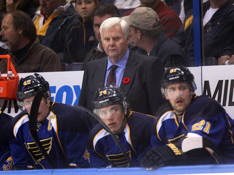 Ken Hitchcock Around the NHL St Louis Blues Ken Hitchcock proves them wrong in