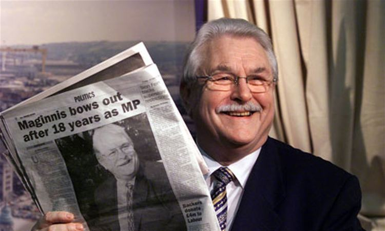 Ken Maginnis Lord Maginnis has whip withdrawn by Ulster Unionists over