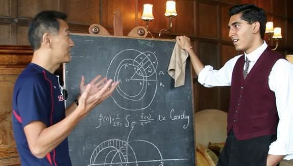 Ken Ono Interview with a mathematician Ken Ono The Intrepid Mathematician