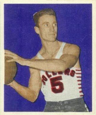 Ken Sailors 1948 Bowman Ken Sailors 12 Basketball Card Value Price Guide