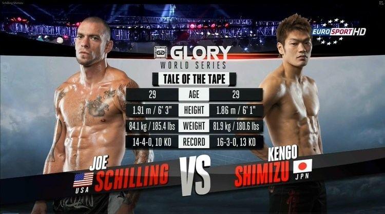 Kengo Shimizu Joe Schilling vs Kengo Shimizu YouTube