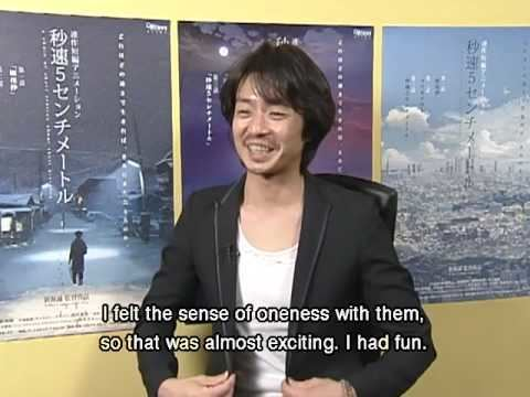 Kenji Mizuhashi 5 Centimeters Per Second Kenji Mizuhashi Interview YouTube