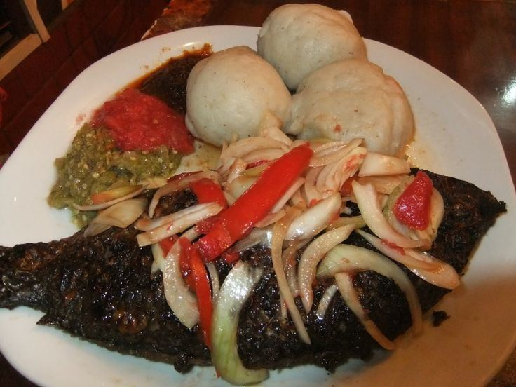 Kenkey Ghanaian Staple Food Kenkey With Fresh Fish Bellafricana Digest