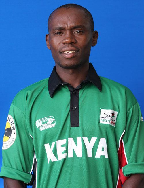 Kennedy Otieno (Cricketer) in the past