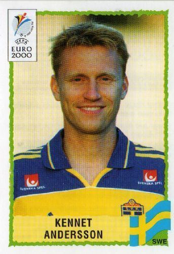 Kennet Andersson SWEDEN Kennet Andersson 136 EURO 2000 Panini Football