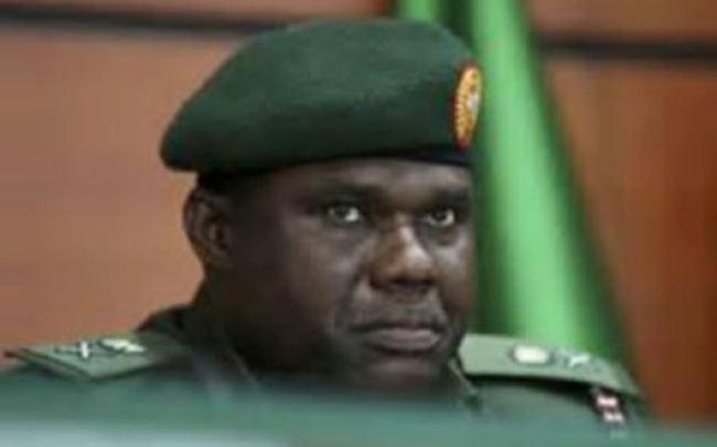 Kenneth Minimah CHIEF OF ARMY STAFF