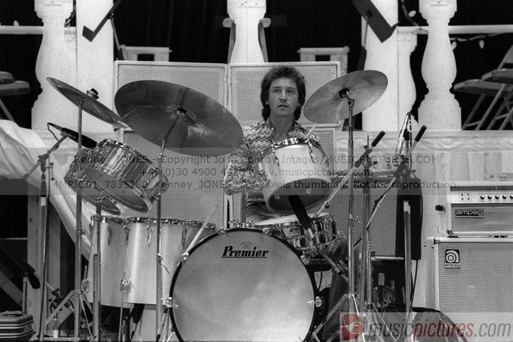 Kenney Jones Kenney Jones The Faces Drums drummers Pinterest Kenney