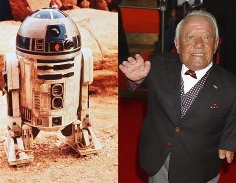 Kenny Baker (English actor) Stars Wars Where Are They Now Paparazi photos Stars