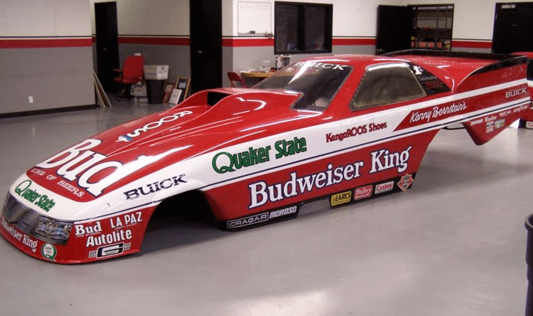 Kenny Bernstein Kenny Bernsteins superaerodynamic Buick LeSabre Funny Car