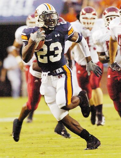 Kenny Irons Auburn39s Ironman It39s unlikely LSU doesn39t recall Kenny Irons